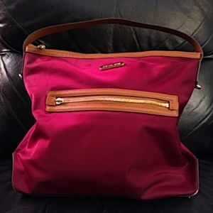 Michael Michael Kors Nylon Leather Bag